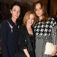 Mary McCartney, Kylie Minogue and Stella McCartney