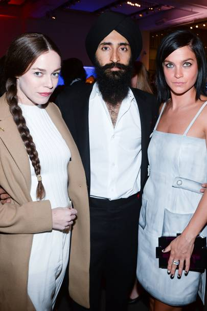 Hailey Gates, Waris Ahluwalia and Leigh Lezark
