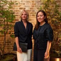 Karin Gustafsson and Marie Honda