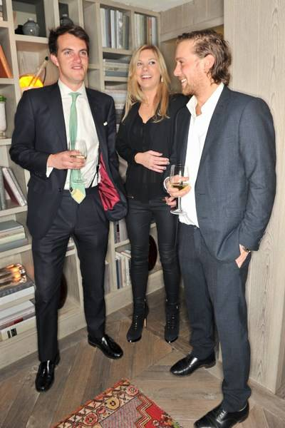Viscount Erleigh, Chelsy Davy and Rory Shearer