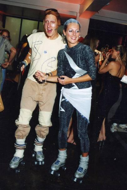 Matt Reid and Sophie Dennys