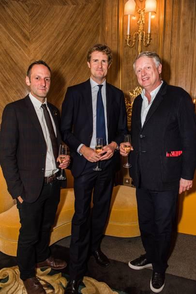 Barnaby Barford, Tristram Hunt and Ben Evans
