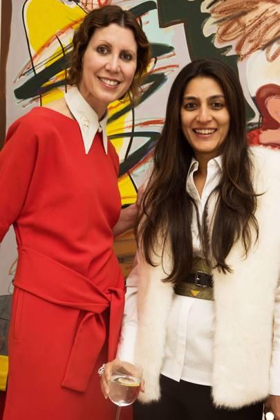 Valerie Napoleone and Megha Mittal