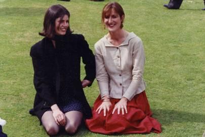 Charlotte Villiers and Mrs Hew Hamilton-Dalrymple