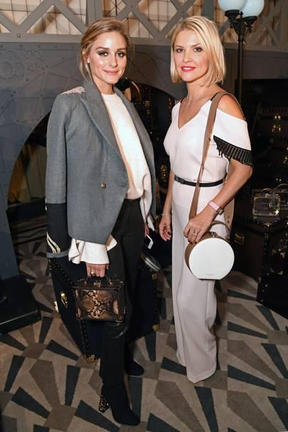 Olivia Palermo and Mariya Dykalo