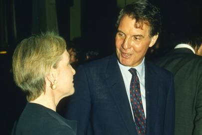 Mrs Richard Ryder and Jonathan Aitken