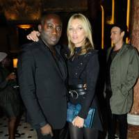 Edward Enninful and Kate Moss