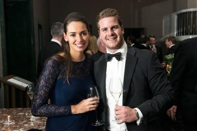 Tanya Hanekom and Chris McGill