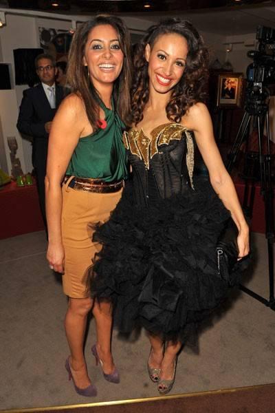 Laila Rouass and Amelle Berrabah