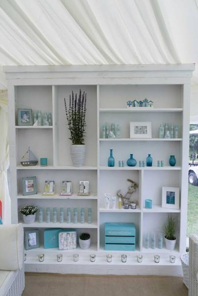 The Liz Earle pop-up, Aberdeen Asset Management Cowes Week