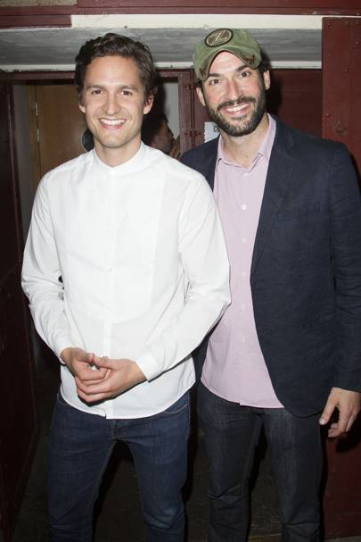 Ben Aldridge and Tom Ellis