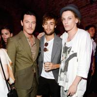 Luke Evans, Douglas Booth and Jamie Campbell Bower