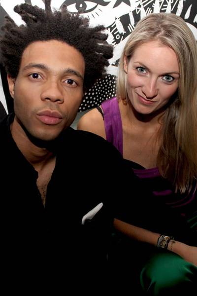 Charlie Casely Hayford and Tilly Macalister-Smith