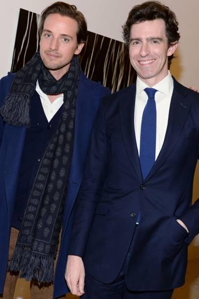 Alexander Gilkes and James Peill