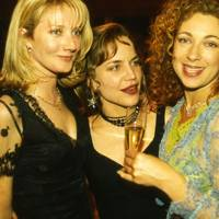 Joely Richardson, Jennifer Calvert and Alex Kingston