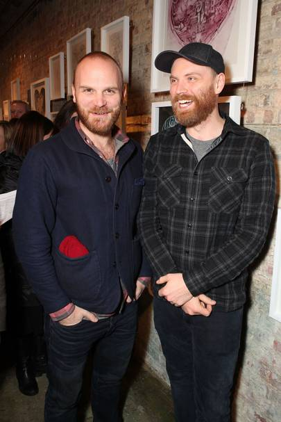 Will Champion and Jonny Buckland