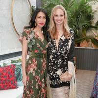Huma Abedim and Lauren Santo Domingo