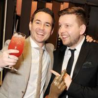 Martin Compston and Greg McHugh
