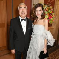 Philip Chung and Alexa Chung