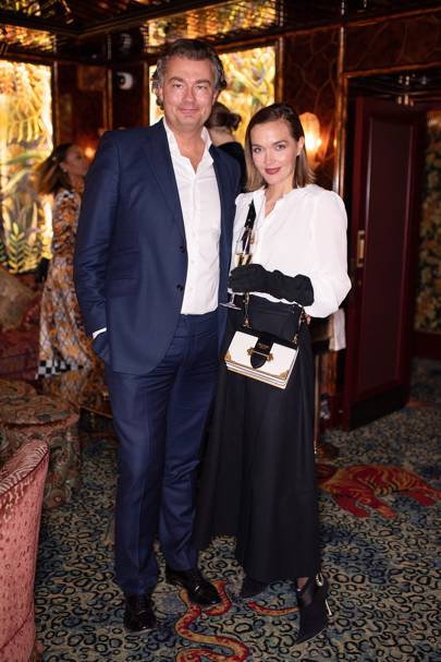 Laurent Feniou and Victoria Pendleton