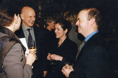 Mrs Duncan Goodhew, Duncan Goodhew, Mrs Ian Hislop and Ian Hislop