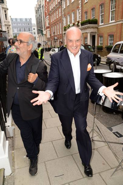 Alan Yentob and Nicholas Coleridge