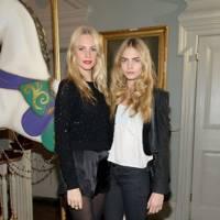 Poppy Delevingne and Cara Delevingne