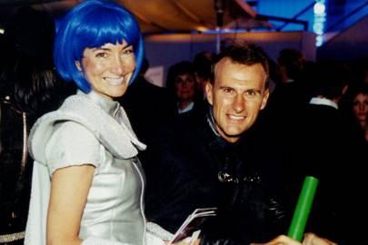 Mrs David Felgate and David Felgate