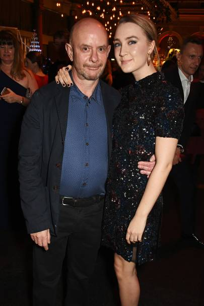 Nick Hornby and Saoirse Ronan
