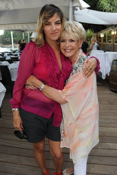 Tracey Emin and Gloria Hunniford