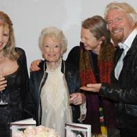 Lindy Brockway, Eve Branson, Vanessa Branson and Sir Richard Branson