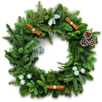 Aldi Christmas wreath