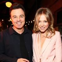 Seth MacFarlane and Poppy Jamie