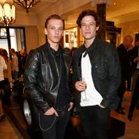 Jamie Campbell-Bower and James Norton