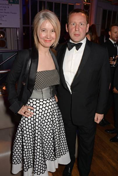 Justine Simons and Ed Vaizey
