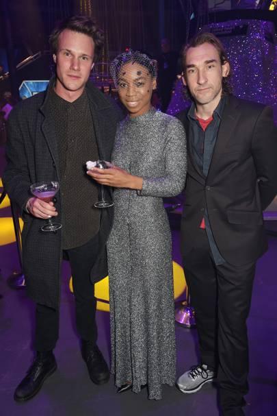 Hugh Skinner, Pippa Bennett-Warner and Joseph Mawle