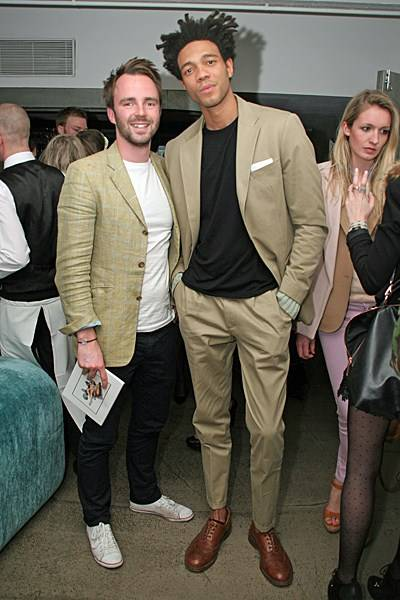 Jonny Boud and Charlie Casely-Hayford