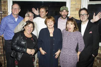 Nicholas Day, Katy Secombe, Ben Aldridge, Isla Blair, Tom Ellis, Charlotte Randle and Nicky Silver