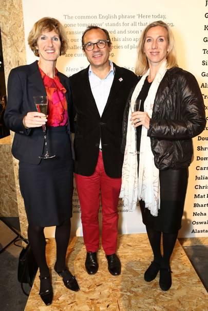 Gillian Holmes, Ricardo Tejada and Giuditta Andreaus