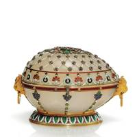Renaissance Easter Egg Jewellery Box, House of Fabergé, 1894