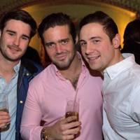 Charlie Rosier, Spencer Matthews and Charlie Schofield
