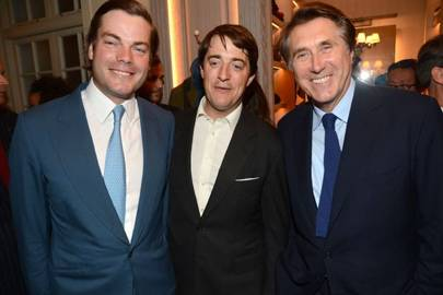Aldred Drummond, Wenty Beaumont and Bryan Ferry
