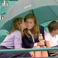 Princess Beatrice, Sarah, Duchess of York and Princess Eugenie