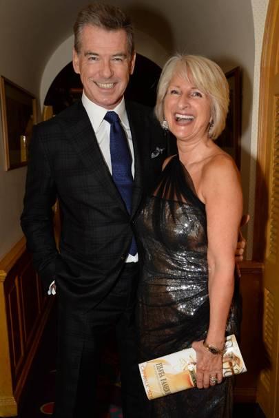 Pierce Brosnan and Janine Du Plessis