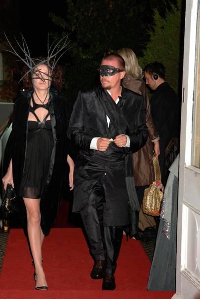 Annabelle Neilson and Alexander McQueen, 2006
