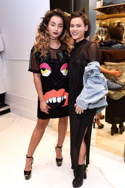 Ella Eyre and Sinead Harnett