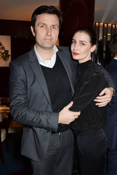Stephen Gibson and Erin O'Connor