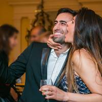 Laurence Hamdan and Roxy Sanchez
