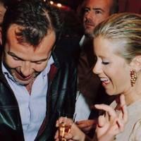 Piers Adams and Mrs Pyrros Vadrdinoyannis
