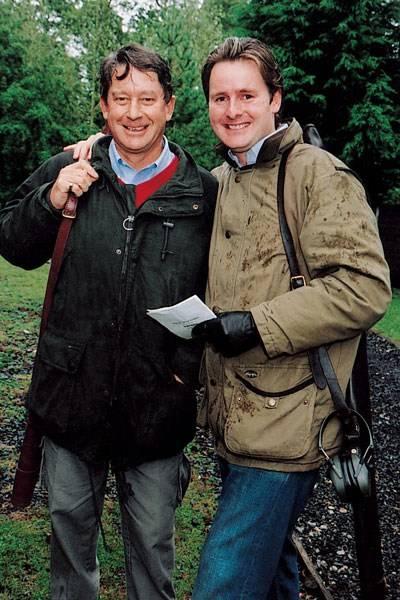 Tim Chadwick and Harry Baker